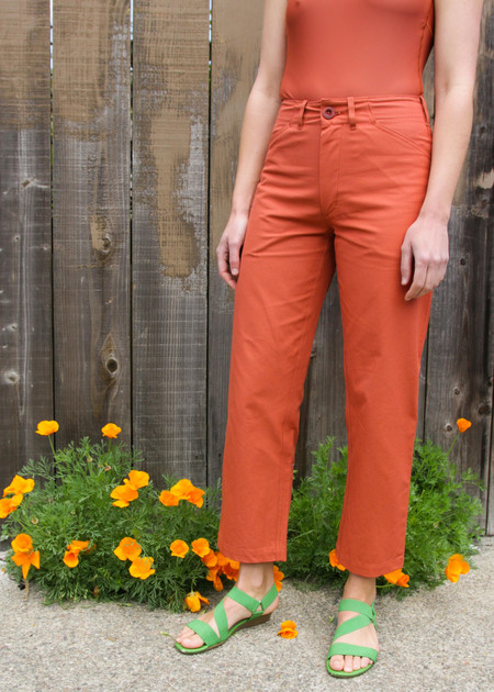 Gravel & Gold Painter Pant - Ginger Spice
