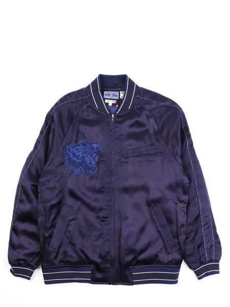 Blue Blue Japan Hawk Pine & MT. Fuji Sakura Souvenir Jacket
