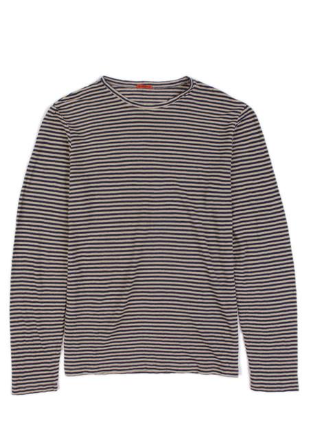 Barena T-Shirt Luigi Navy Stripe