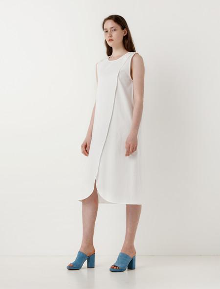 Priory Hira Dress White