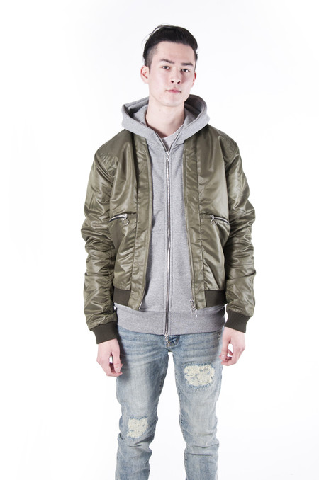 Chapter Mont Bomber Jacket Olive