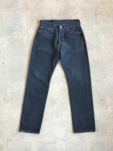 Levis Made & Crafted Black Vintage Levi's 501