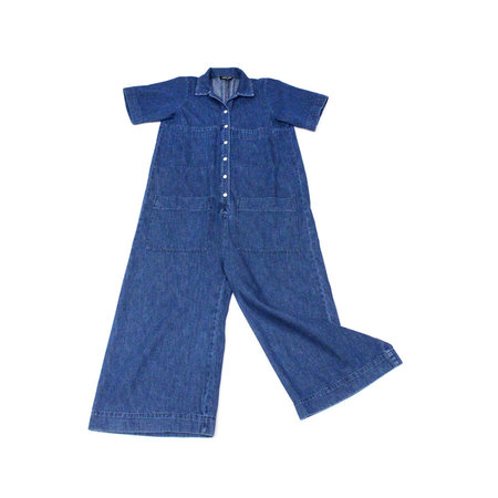 Ilana Kohn Mabel Coverall in Denim