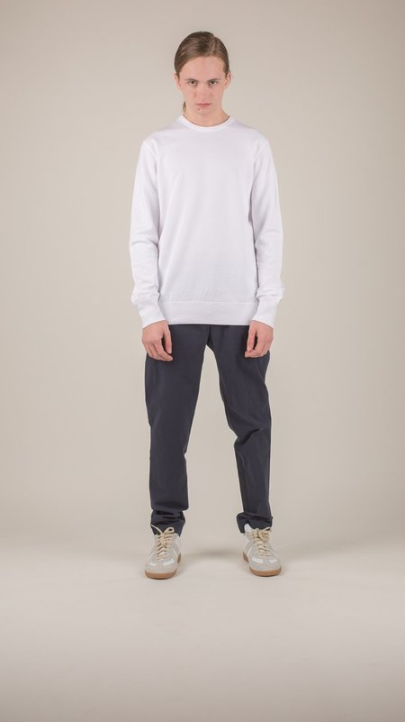 Reigning Champ - White Lightweight Terry Crewneck