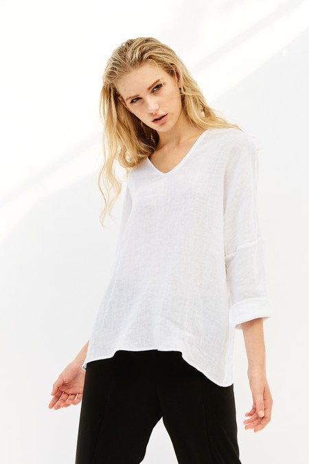 Devlyn Van Loon Loose Neck Long Sleeve