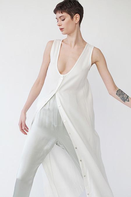 Shaina Mote Lucid Dress - white