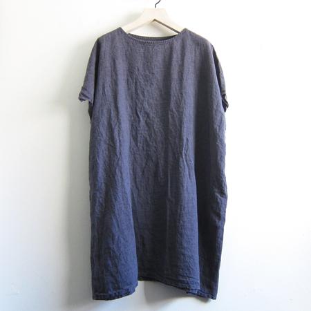 Artemesia linen wide dress - denim