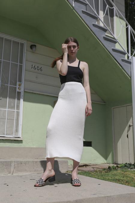 Baserange Bobbili Skirt in Off-White