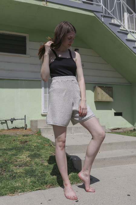 Baserange Mahe Shorts in Marble Grey