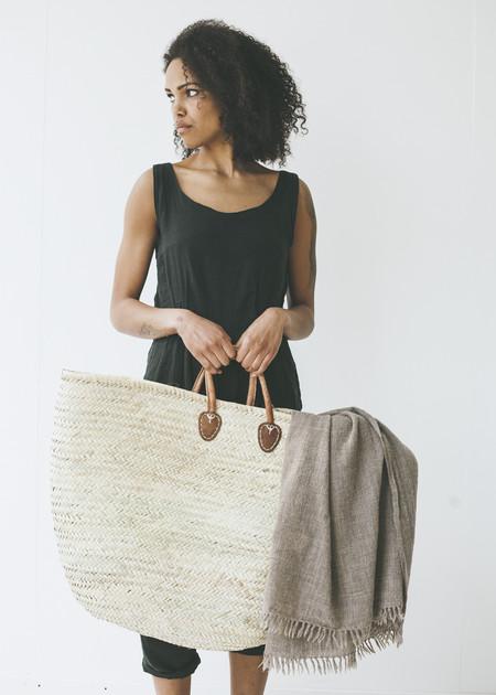C+L Finds Market Laundry Basket