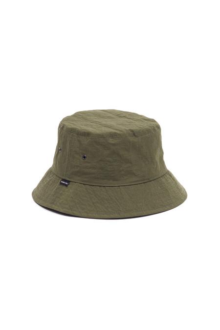 Maiden Noir Structured Nylon Bucket Cap