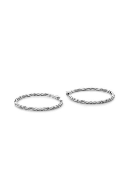 Nickho Rey Slim Tire Hoop Earrings