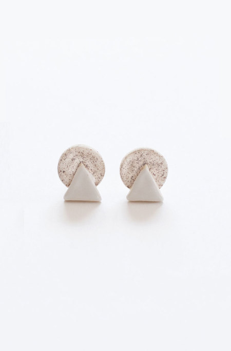 Gamma Folk Mount Moon Earrings
