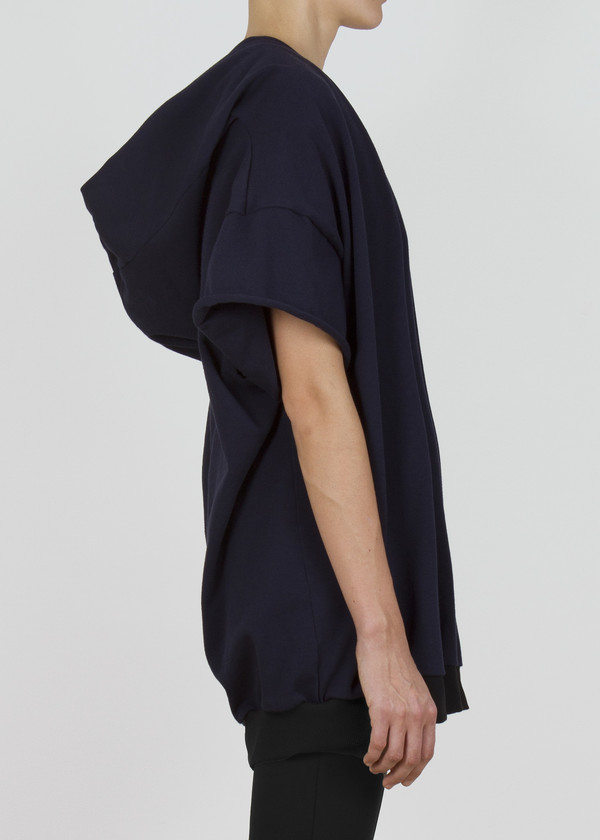 Unisex complexgeometries soft square hoodie | navy
