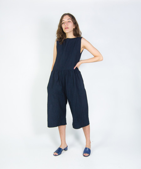 Ilana Kohn Indigo Denim Kate Jumpsuit