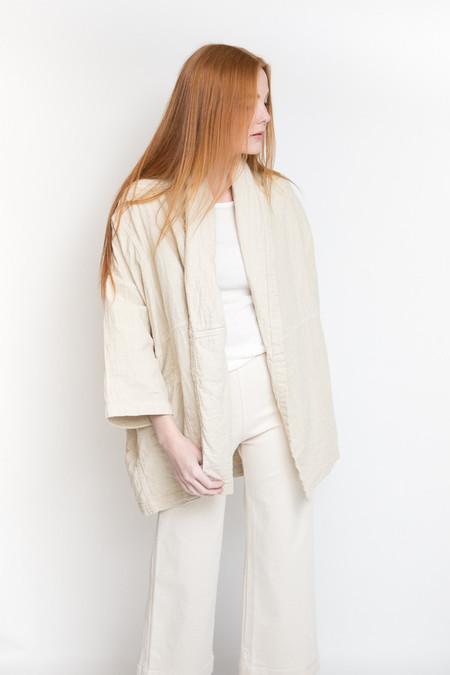 Atelier Delphine Haori Coat - Birchwood