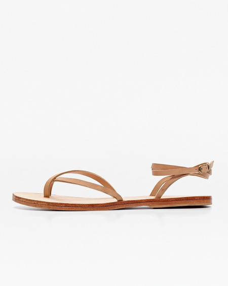 Nisolo Cora Wrap Sandal Beige 5 for 5