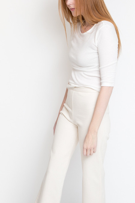 Just Female Vespa O-Neck Tee / White