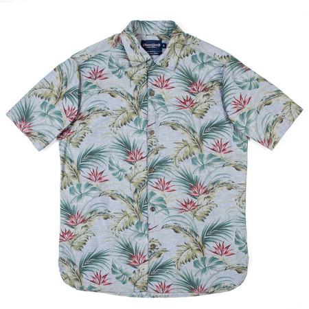 Freenote Cloth Hawaiian Shirt - Blue