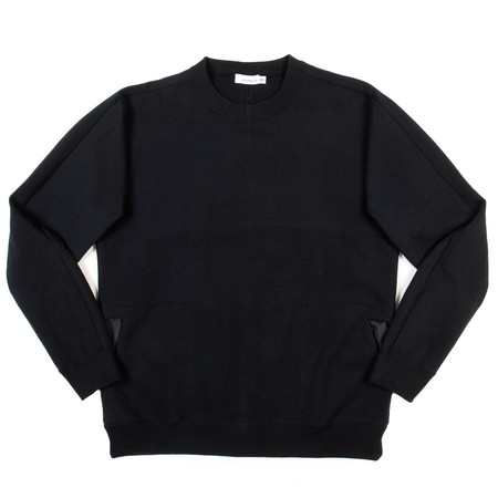 Nanamica Crew Neck Sweat - Black