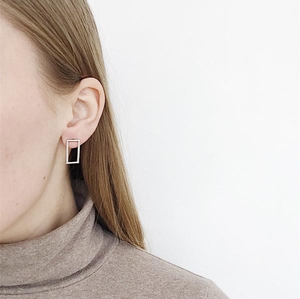 Karenn.la LeWitt Rectangle Earring