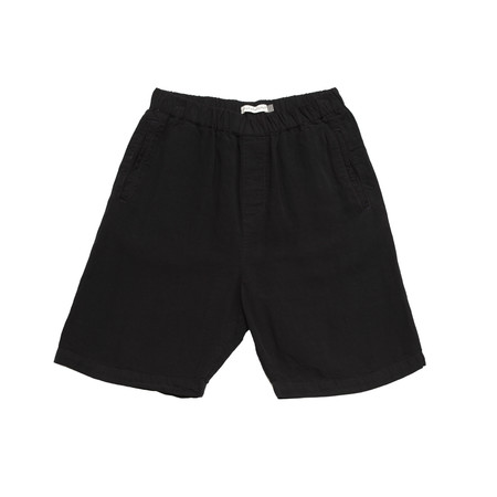 Olderbrother Geri Shorts - Black Indigo