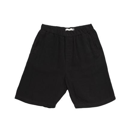 Olderbrother Geri Shorts - Black Indigo
