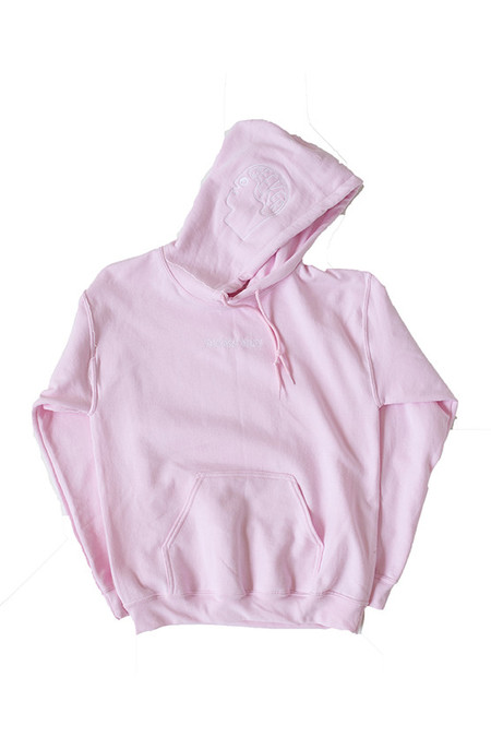 Unisex SEEKER Search Inside Hoodie in Pink
