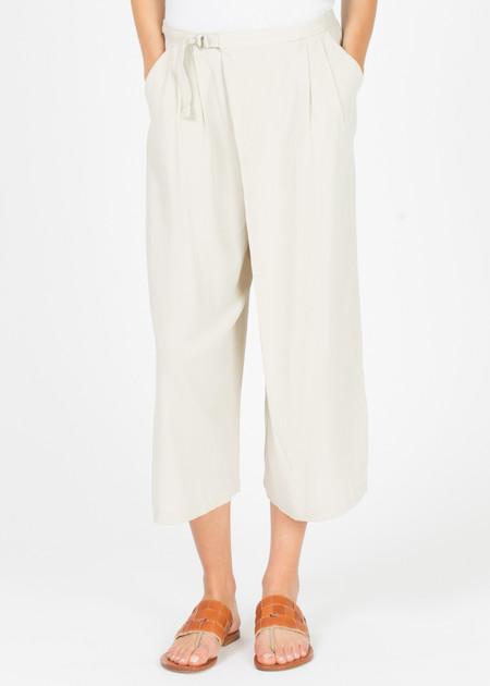 Evam Eva Double Cloth Wrap Pant