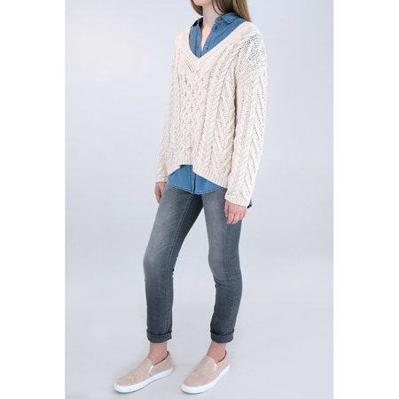 Closed Cotton Knit Sweater