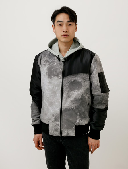 Christopher Raeburn Reversible Bomber Jacquard Moon