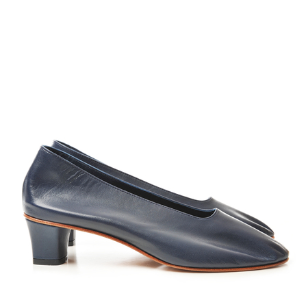 Martiniano Navy High Glove Shoe
