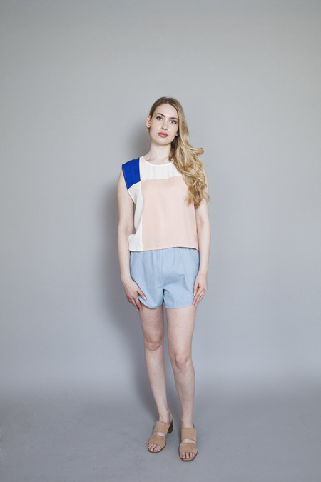 Eve Gravel - Mondrian Top