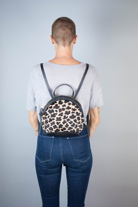 Eleven Thirty Shop Anni Mini Backpack - Leopard