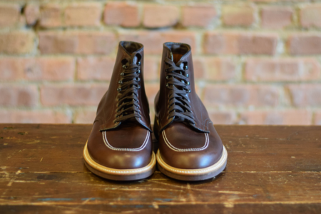 Alden Shoes 403 Indy Boot Brown Aniline