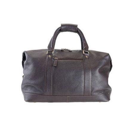 Barbour Leather Holdall Bag
