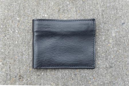 Milworks Black Leather Wallet
