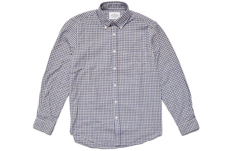 Portuguese Flannel Telá Blue Shirt