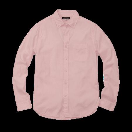 Alex Mill Solid Herringbone Shirt Pink
