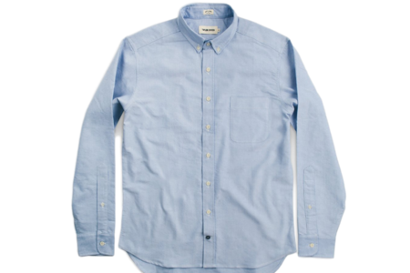 Taylor Stitch Jack Blue Oxford