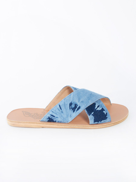 Ancient Greek Sandals Thais Tie and Dye