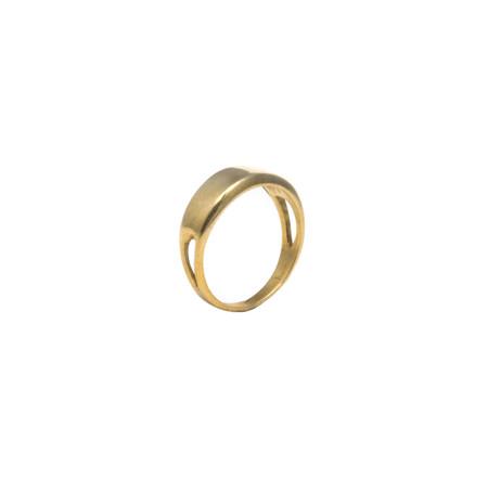 Erin Considine Signet Ring in Brass