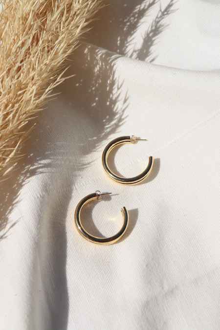 Young Frankk Hoop Earrings