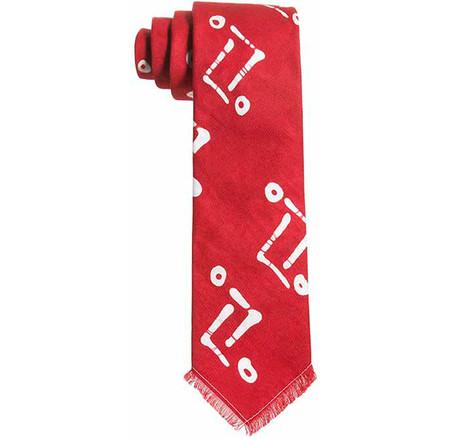 Post-Imperial Adire Ibeji Pattern Tie