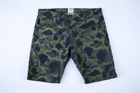Kennedy Denim Co Surplus Chino Shorts - Duck Camo Ripstop