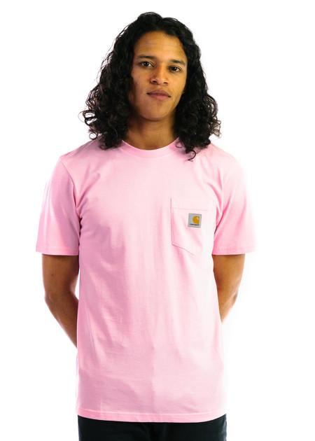 CARHARTT WIP SS Pocket T-Shirt - Vegas Pink