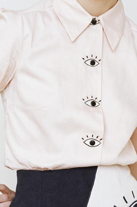 hannah kristina metz Baron's Eyes Blouse