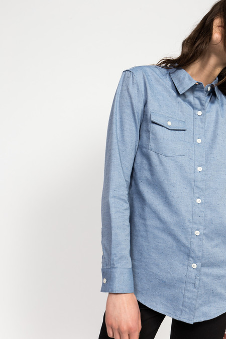 Bridge & Burn Button Up