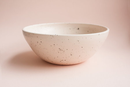 YYY 8 inch low peach galaxy bowl