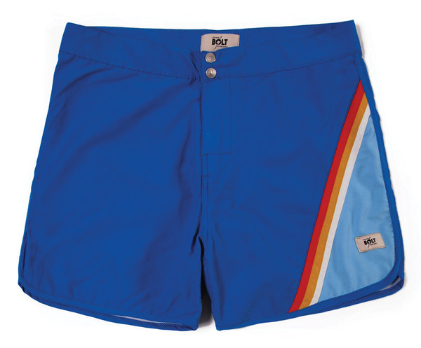 Lightning Bolt Ibis Striped Boardshorts